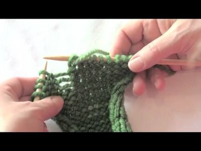 Urban Knitters' Beginner's Tutorial #9 - Fixing a Dropped Purl Stitch