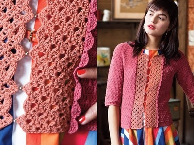 #17 Arcade Lace Cardi, Vogue Knitting Crochet 2013 Special Collector's Issue