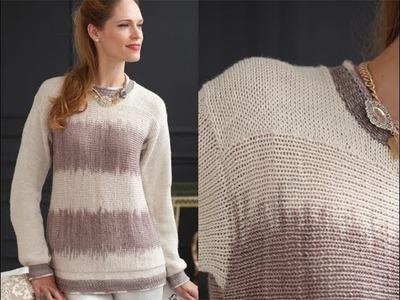 #19 Sideways Tunic, Vogue Knitting Holiday 2013