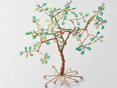 Beaded Wire Tree How to