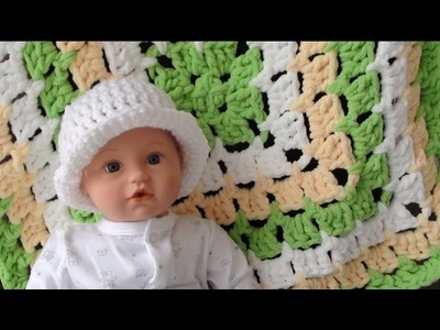 Bernat Baby Blanket - From the Middle: Part 2 - How to Crochet