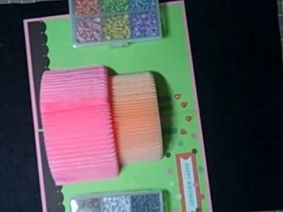 Cards - Cake Birthday Card by Martha Stewart Crafts Part 4