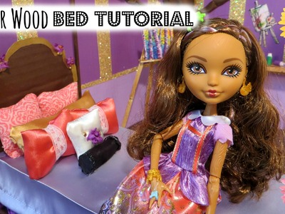 Cedar Wood Bed Tutorial + Bonus Craft