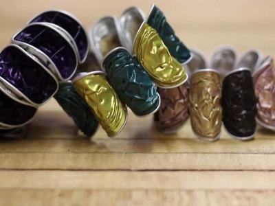 Coffee Capsule Bracelet DIY