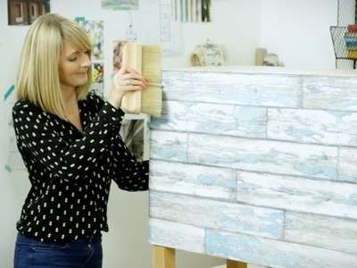 Craft Corner: How to make an upcycled sideboard