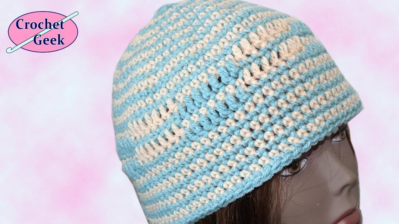 Crochet Geek Beanie Hat
