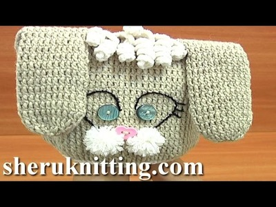 Crochet Hat for Kids Tutorial 1 Part 2 of 3 How to Crochet Bunny Hat With Long Ears