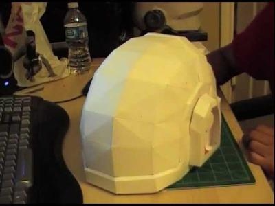 Daft Punk Guy Manuel Papercraft Helmet