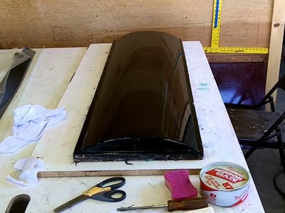 DIY Carbon Fiber Longboard Tutorial- 3 of 7