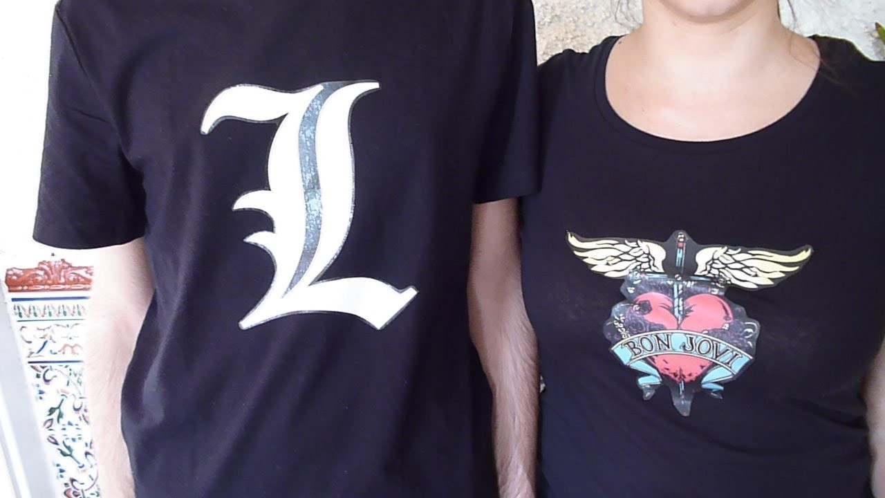 DIY DISEÑA TUS CAMISETAS CON PAPEL TRANSFER. DESIGN YOUR SHIRTS WITH TRANSFER PAPER