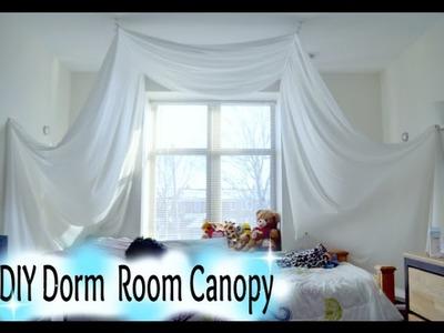 DIY: Dorm Room Canopy Tutorial