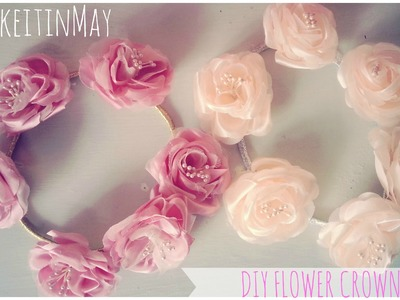 ✿ DIY Easy Flower Crowns ♛ #MakeitinMay