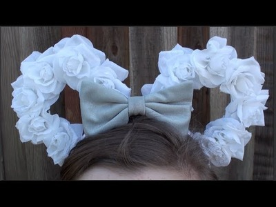 DIY: Floral Mickey Ears