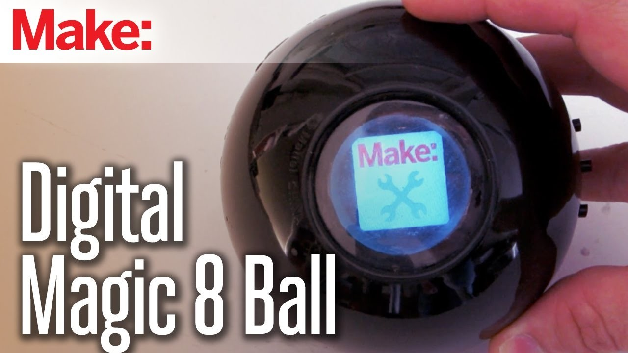 DIY Hacks & How To's: Digital Magic 8 Ball