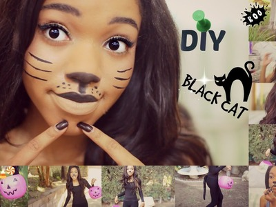 DIY Halloween CAT Costume!!!!!!!!