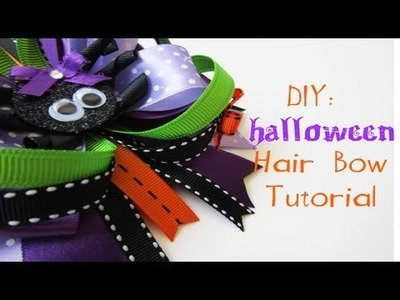 DIY: Halloween Hair Bow and GIVEAWAY [CLOSED] (Day 1: Halloween week)