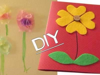 DIY Homemade Mother's Day Cards pt 1!!.  or any occasion! :P