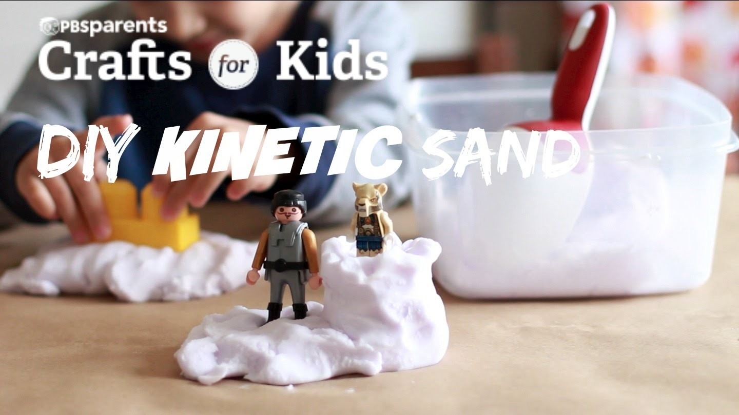DIY Kinetic Sand | Crafts for Kids | PBS Parents