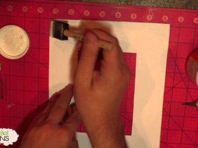DIY | Mod Podge | Simple Wood Frame