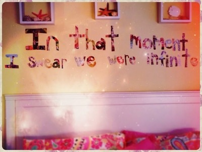 DIY: Room Decor- Quote Cutout by Niki