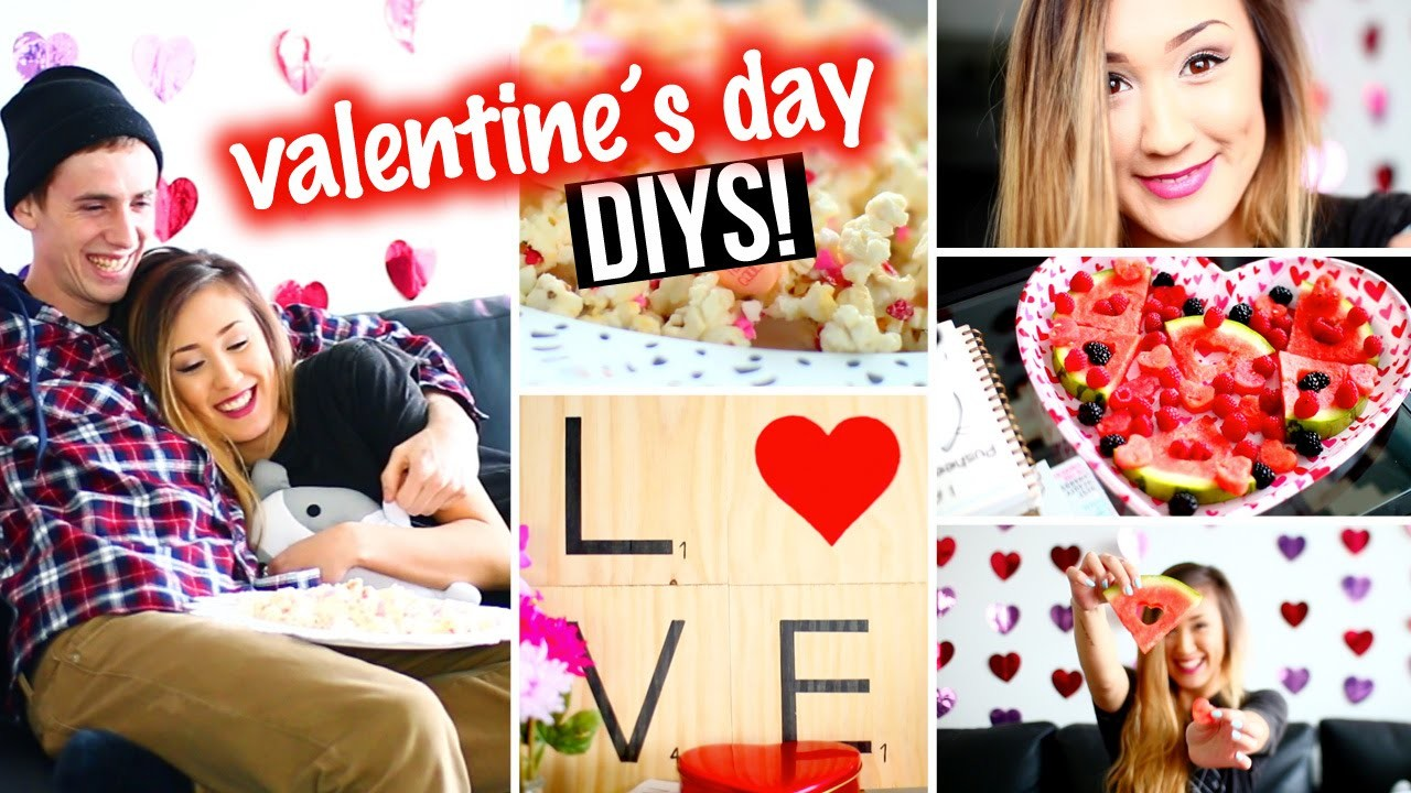 DIY Valentine's Day Room Decor, Makeup & Easy Snacks! | LaurDIY