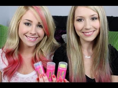 Easy & Simple DIY Dip Dye Pink Hair!
