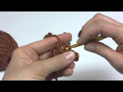 Episode 123: How To Crochet A One Round Fall Elm Leaf