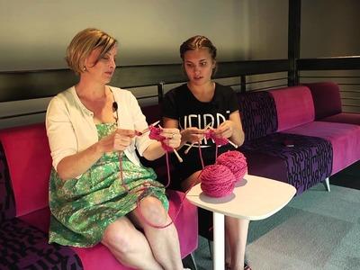 Extra Stitches! Mini Knitting Lesson with Haunted Sunshine Girl