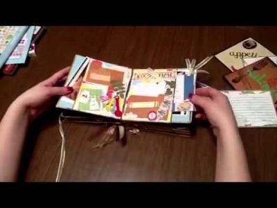 Family Recipe mini  Scrapbook