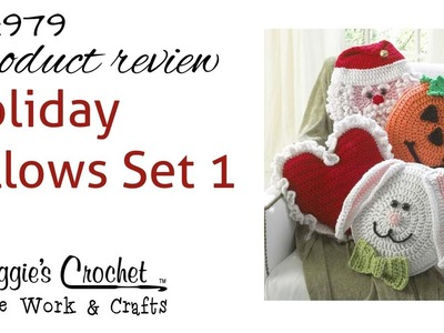 Holiday Pillows Crochet Pattern Set 1 - Product Review - PA979