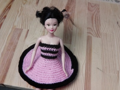 How to crochet a petticoat dress for lefties