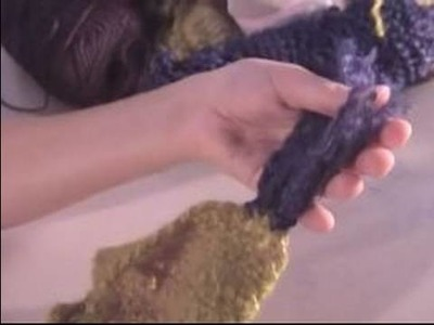 How to Crochet a Scarf : How to Make Fluffy Scarf Fringe for Crochet