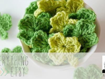 How to Crochet a Shamrock Clover