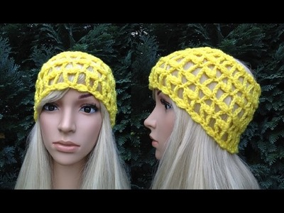 How to Crochet Earwarmers. Headband Pattern #13 │by ThePatterfamily