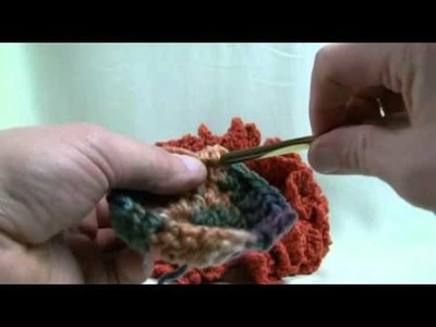 How To Crochet Simple Center Pieces Part 1 of 2