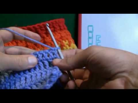 How To Crochet Using Front Posts FPDC - RH