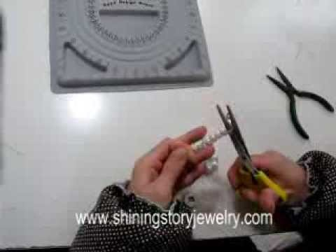 How to hand knot a pearl bead necklace