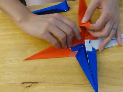 How to make a Fourth of July Patriotic Origami Star