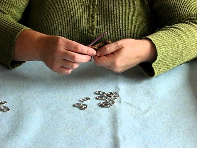How To Make A HPT or Half Double Crochet Pop Tab Stitch