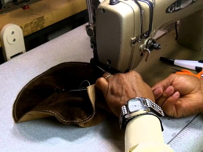 How To Make A Leather Cap