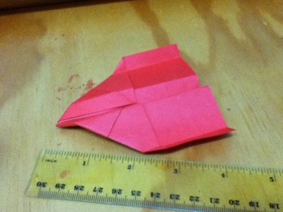 How to Make a Micro Paper Plane - A Very Small Origami Plane - Step by Step Instructions