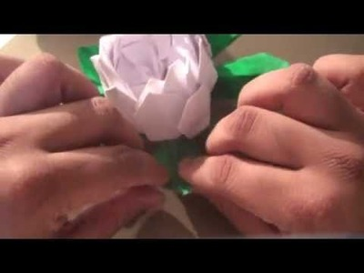 How to Make a (Origami) - Paper Lotus Flower (Modular)!