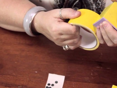 How to Make a Pair of Dice for a Centerpiece : Homemade Crafts