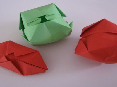 How To Make A Paper Water Bomb, easy fun origami craft