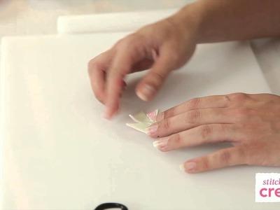 How to make a sugar pinwheel | Cake Craft Made Easy