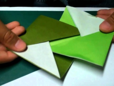 How to Make an Origami Coaster Take 2