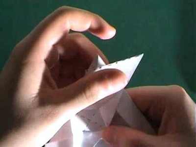 How to make an origami Spearm Whale