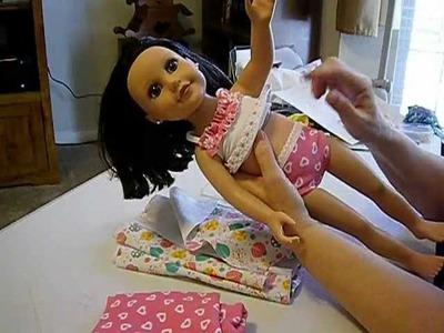 How to Make Doll Underwear Update