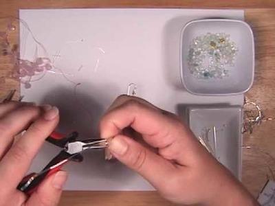 How to Make Rose Quartz Dangle Earrings