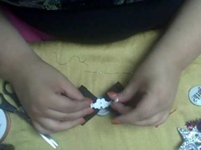 How to: No Sew Hair Bow.